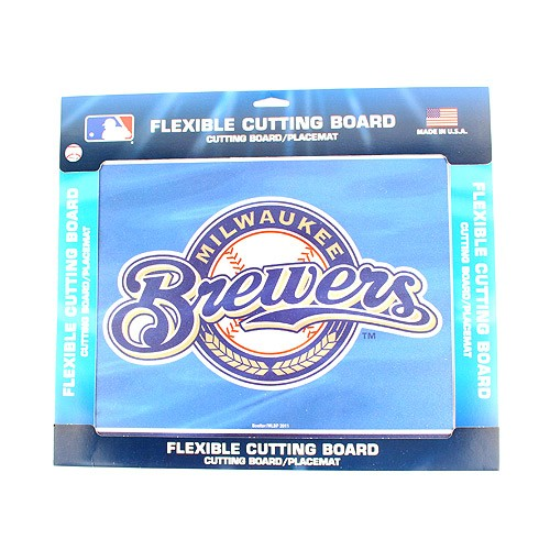Milwaukee Brewers Flex Cutting Board/Placemat