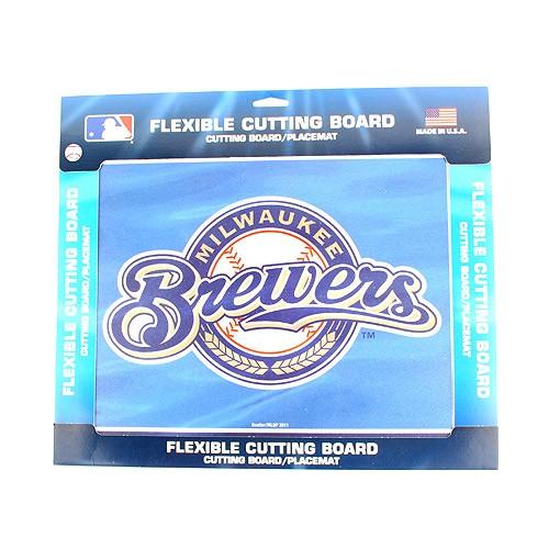 Milwaukee Brewers Flex Cutting Board
