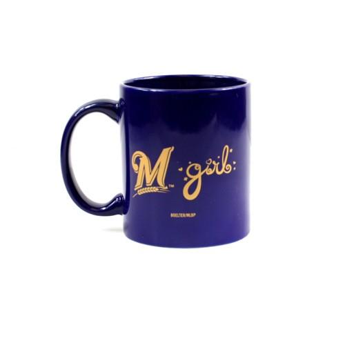M-girl Milwaukee Brewers 11oz. Coffee Mug
