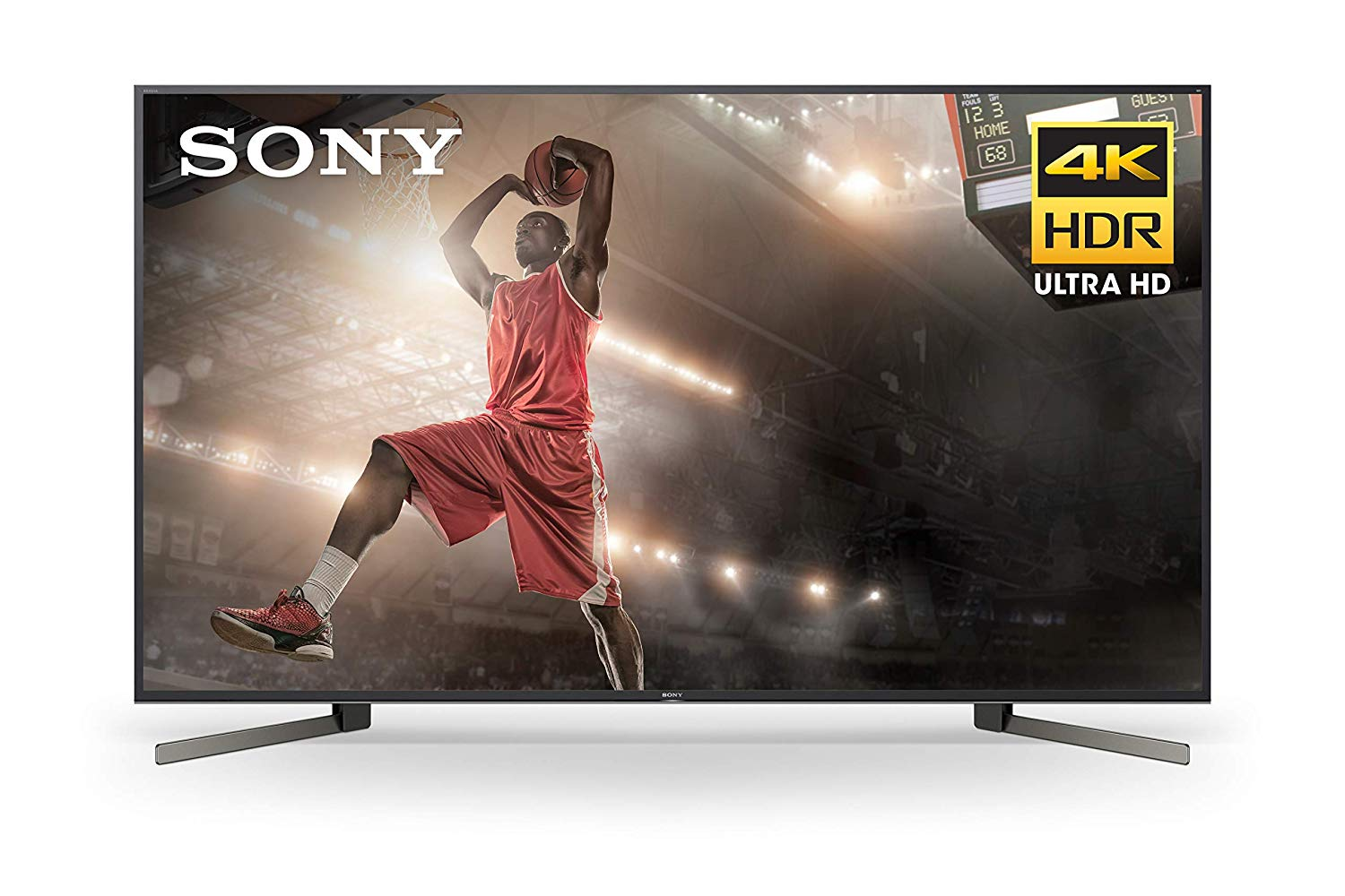 Sony 85 Inch TV: 4K Ultra HD Smart LED TV with HDR and Alexa